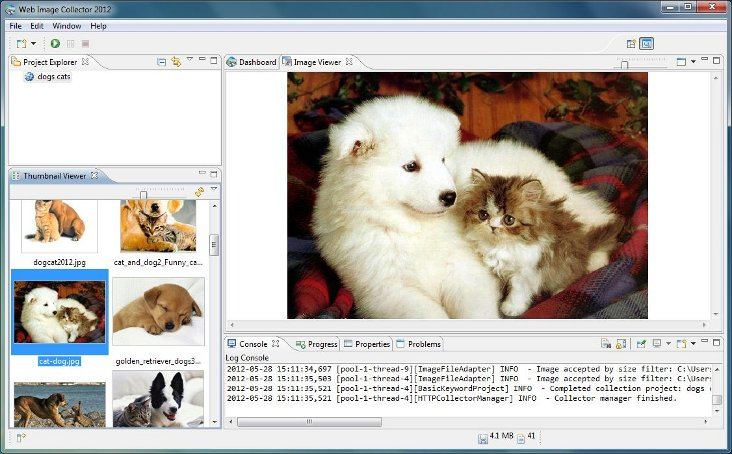 WIC is the perfect tool for collecting images